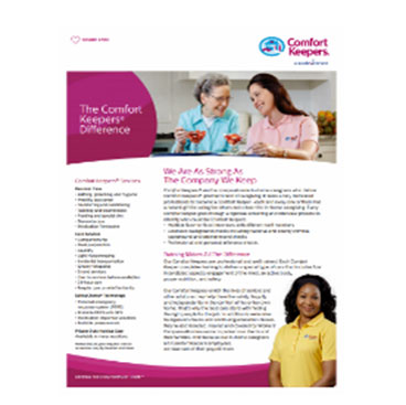 Comfort Keepers – More Info